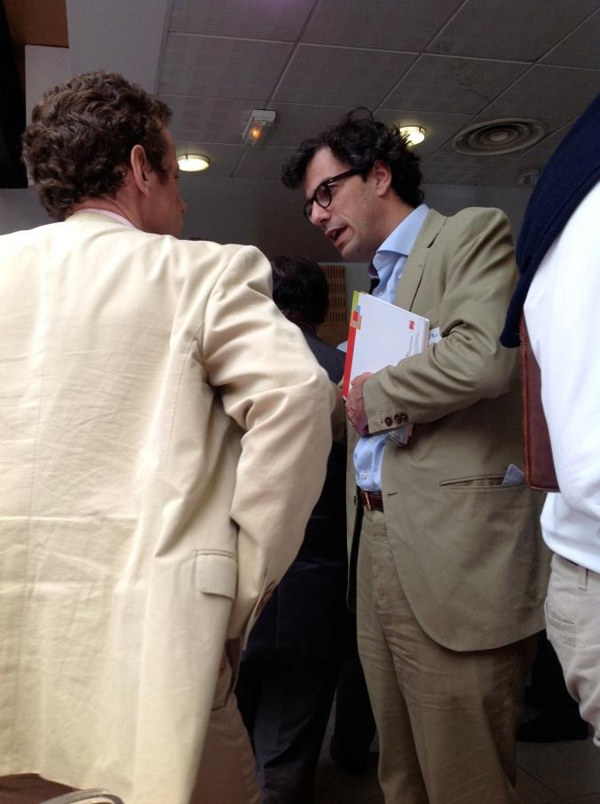 Avec Frédéric Le Brun (CDC Entreprises / FSN PME)