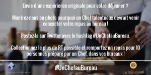 #UnChefAuBureau
